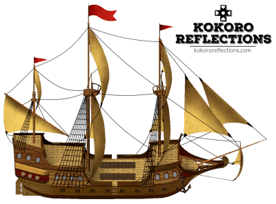 Free Old-Fashioned Parallax Pirate Ship for RPG Maker MV, Ace