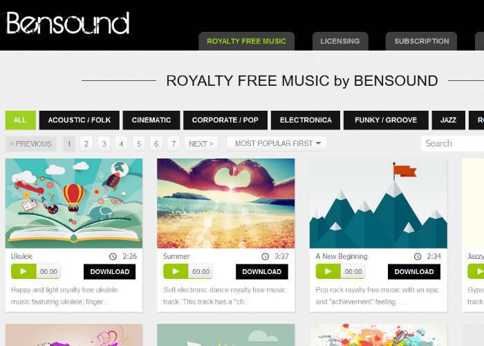free music sites