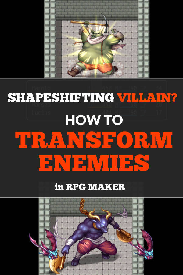 transform enemies