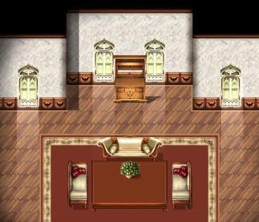 free RPG Maker mansion tiles
