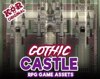 gothic castle tileset