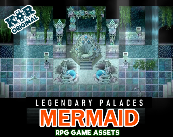 mermaid tileset