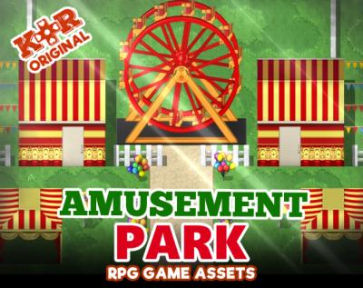 amusement park tileset