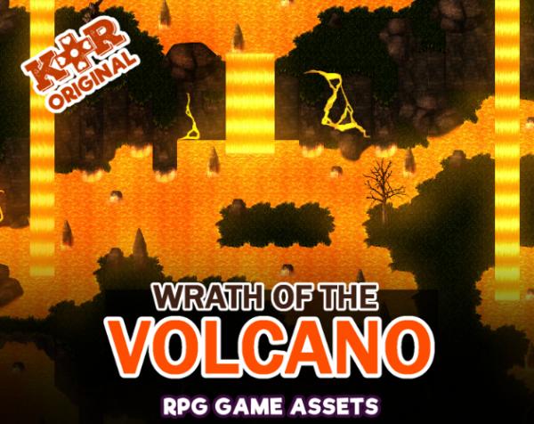 volcano tileset