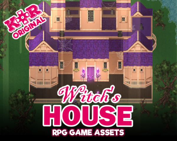 witch's house tileset